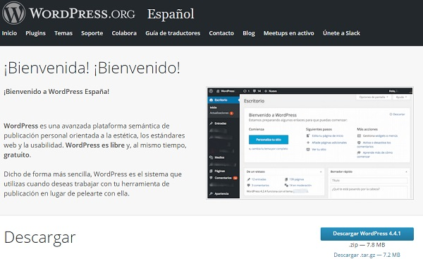 Wordpress para blogs