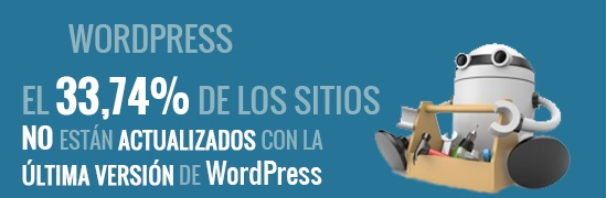 Datos de actualización de WordPress